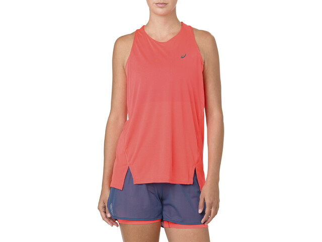 asics Cool Top sin Mangas Mujer, flash coral